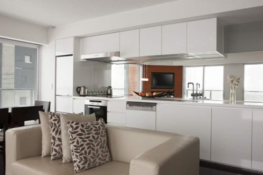 Appartement Deluxe, 1 chambre (Alpine) - Coin séjour