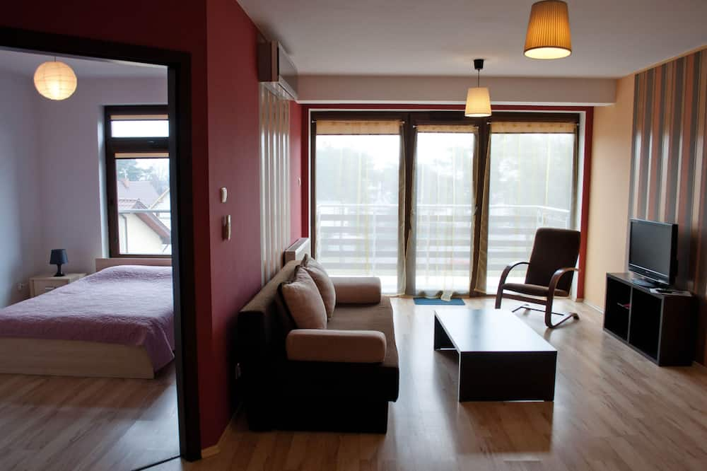 Apartment, 1 Double Bed with Sofa bed (4 persons) - Living Area