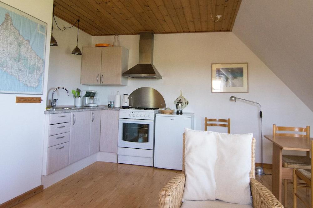 Apartment, 1King-Bett, Balkon, Meerblick (A) - Wohnbereich