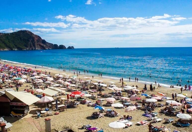 Kleopatra Ada Beach Hotel - All Inclusive, Alanya, Plage