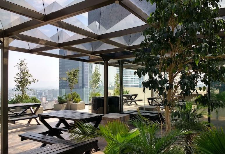 Suites Capri Reforma Angel, Мехико Сити, Терраса/ патио