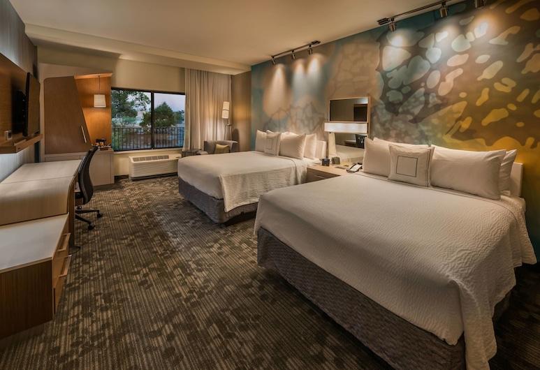 Courtyard Reno Downtown/Riverfront, Reno, Zimmer, 2Queen-Betten, Nichtraucher, Zimmer