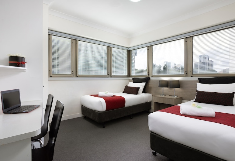 George Williams Hotel Brisbane, Brisbane, Double + Single, Guest Room