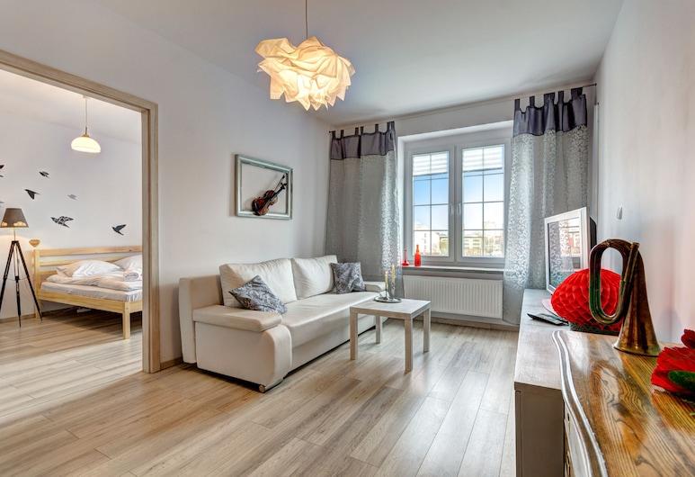 Dom & House – Apartments Old Town, גדנסק, דירה, 2 חדרי שינה (ul. Kotwiczników 21/25, 6 Adults), אזור מגורים