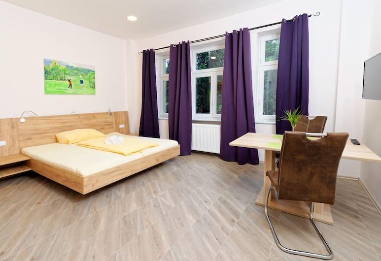 Villa Luna, Wenen, Standaard studio suite, kitchenette, Woonruimte