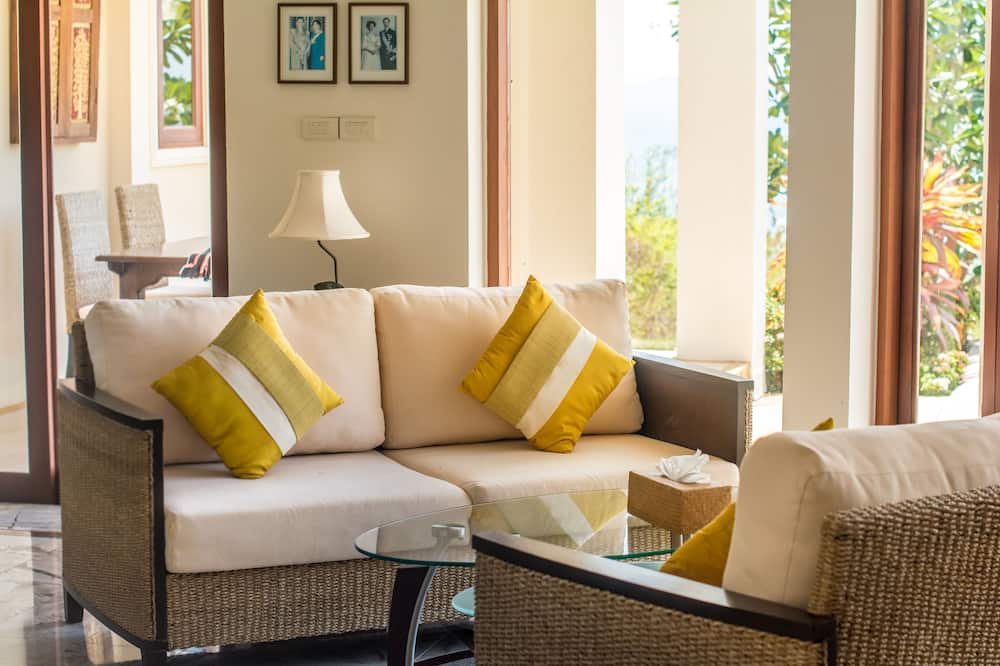 3 Bedrooms Villa with Private Pool - Nappali rész