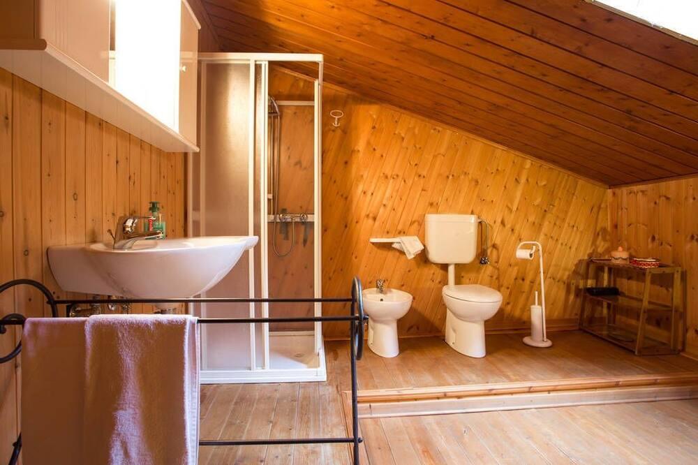 Camera doppia (external private bathroom) - Bagno