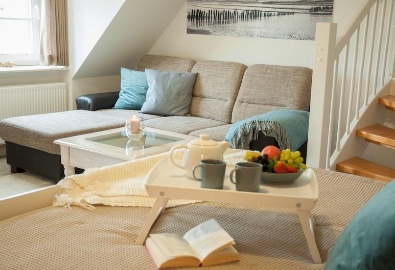 Freie Sicht Das Nordsee-Gesundheitshaus 1, Dagebuell, Comfort Apartment, 1 Bedroom, Garden View (Lille Peer), Room