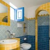 Dreibettzimmer, Gartenblick - Badezimmer
