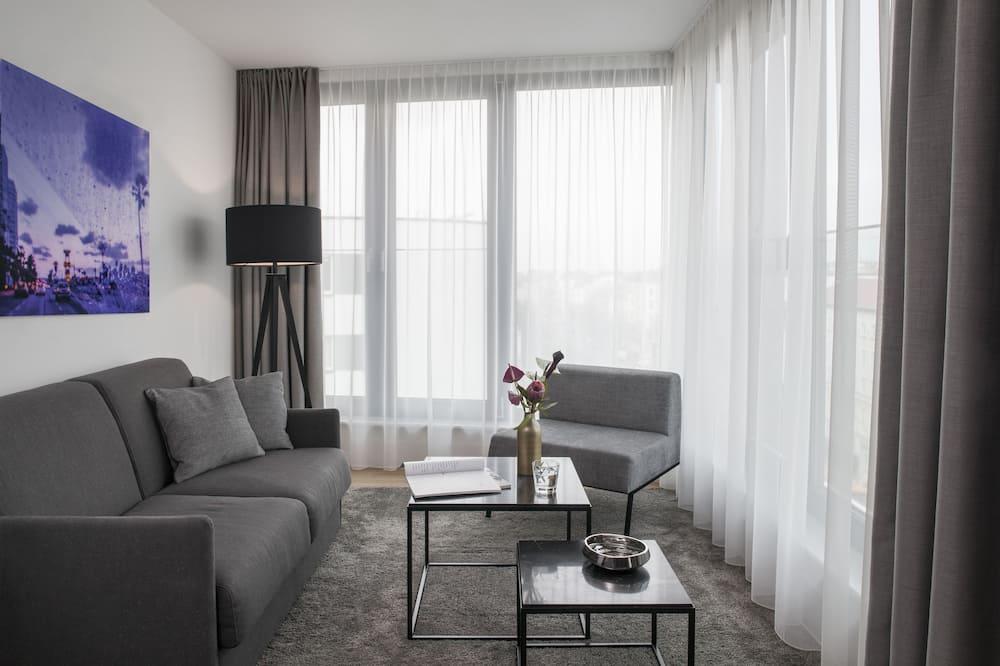 Lejlighed - 2 soveværelser - terrasse (XL) - Stue