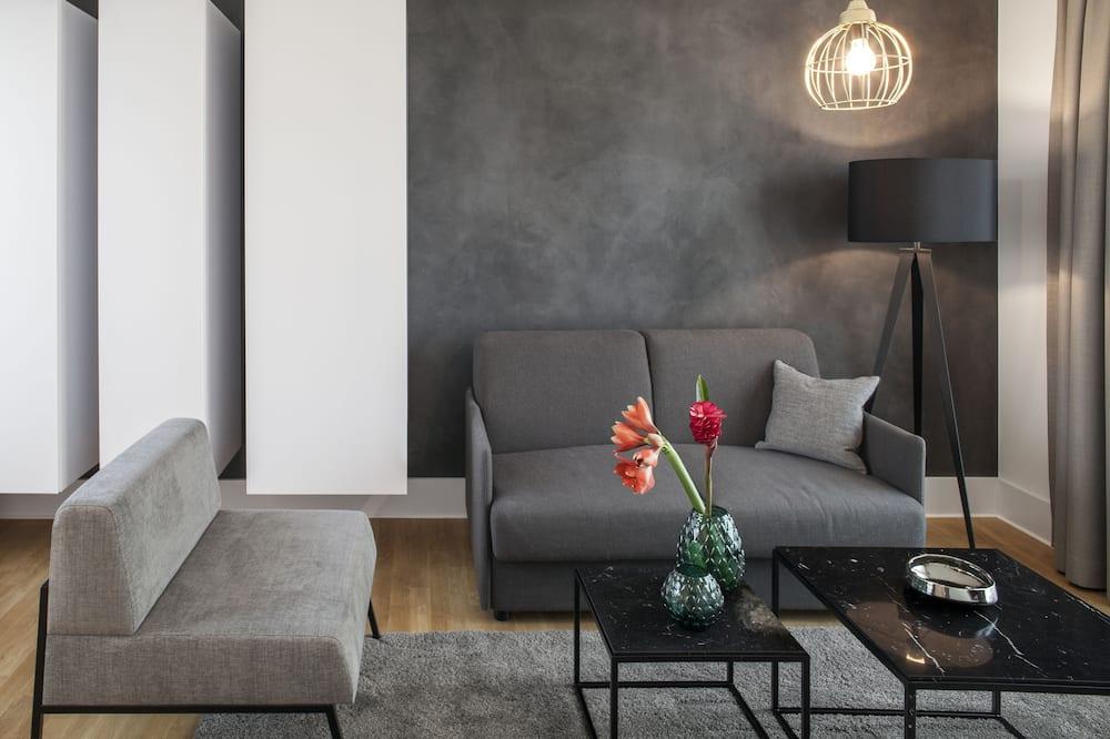 Lejlighed - 1 soveværelse (L) - Stue