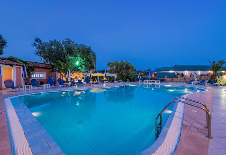 Callinica Hotel, Ζάκυνθος, Εξωτερικός χώρος