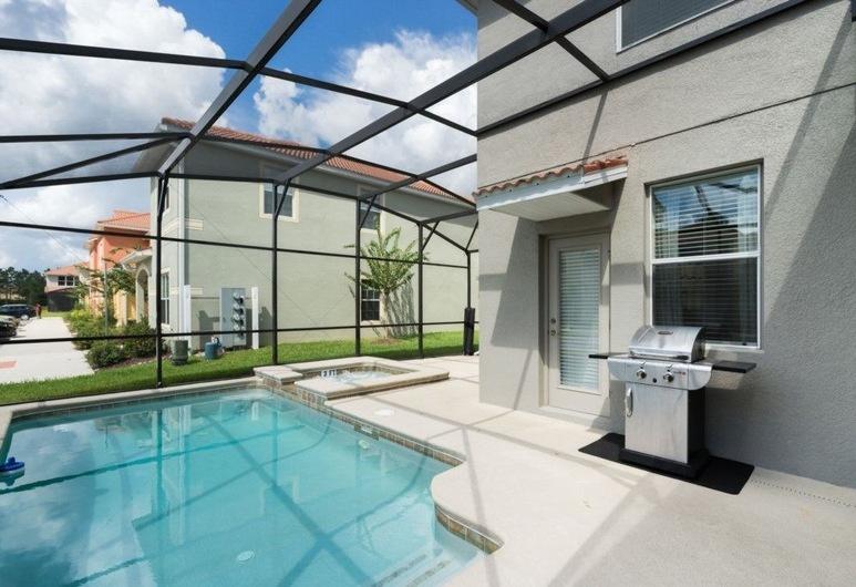 Paradise Palms Resort by VHC Hospitality, Kissimmee, Ev, 5 Yatak Odası, Teras/Veranda