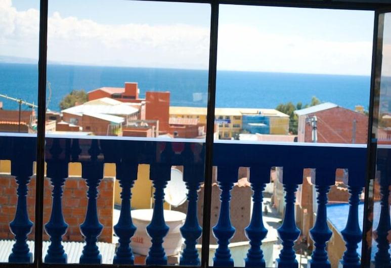 Hostal Florencia, Copacabana, Viešbučio teritorija