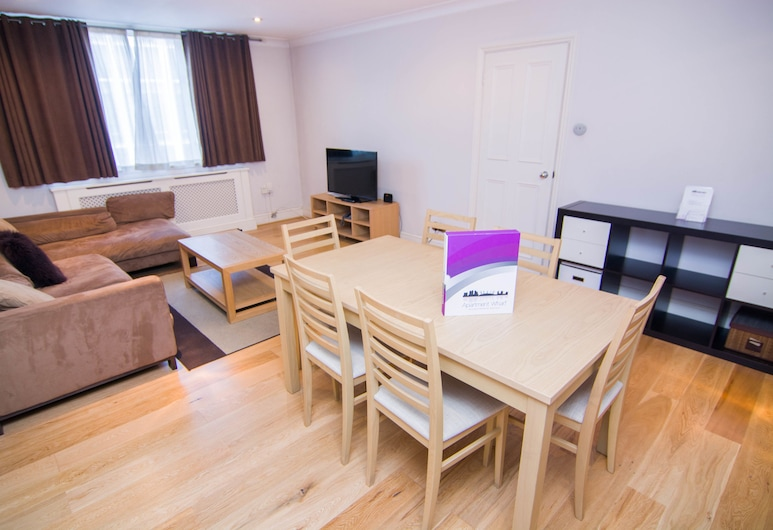 Apartment Wharf - Central London, London, City-Apartment, 2 Schlafzimmer, Wohnbereich
