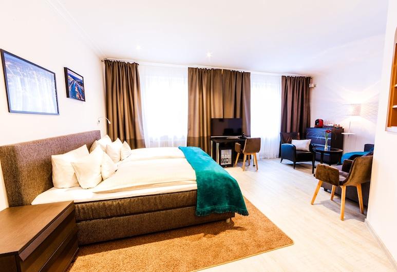 Hotel Kaiserhof, Karlsrūhė, Pagerinto tipo dvivietis kambarys, 1 miegamasis, Nerūkantiesiems, Svečių kambarys