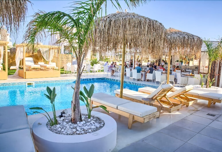 Alia Luxury Suites, Rodos, Restaurant