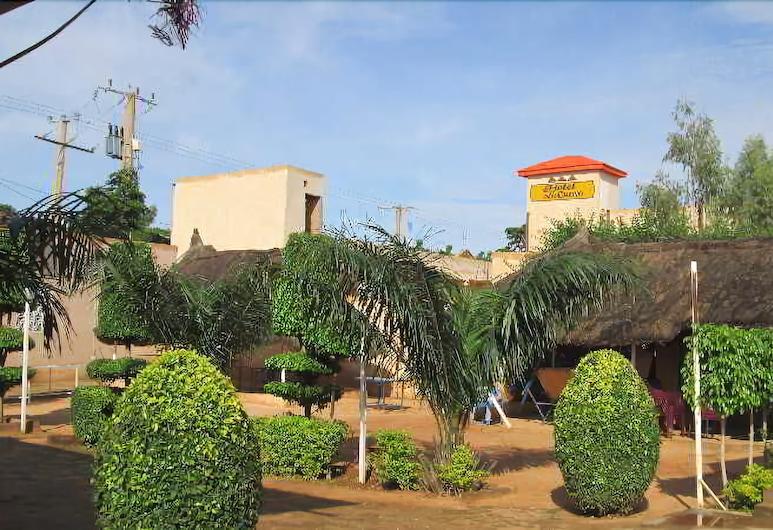 Les Collines, Niamey, Vista desde el hotel