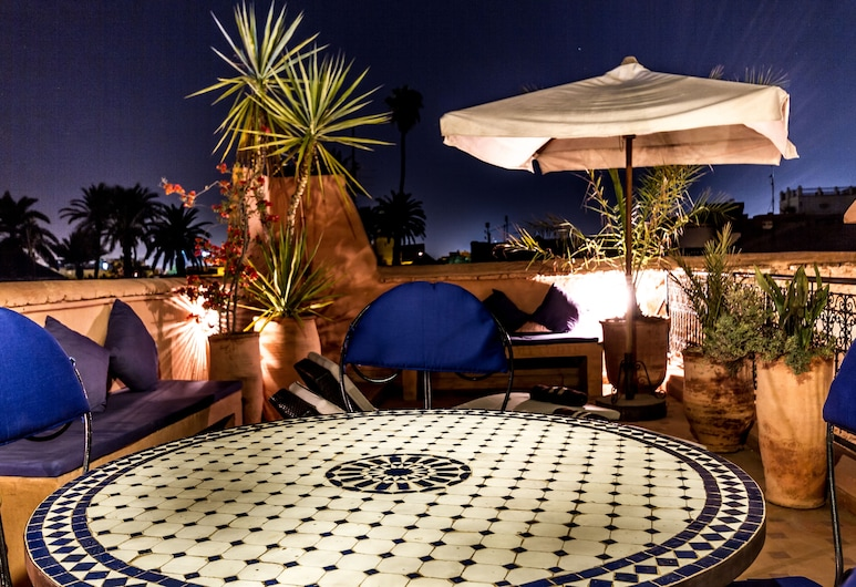 Riad Nora, Marrakech, Terrasse/veranda