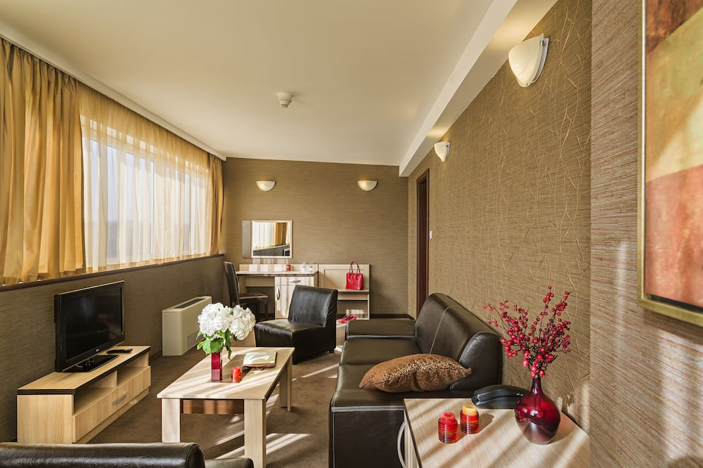 Panorama Suite, King size bed - Περιοχή καθιστικού