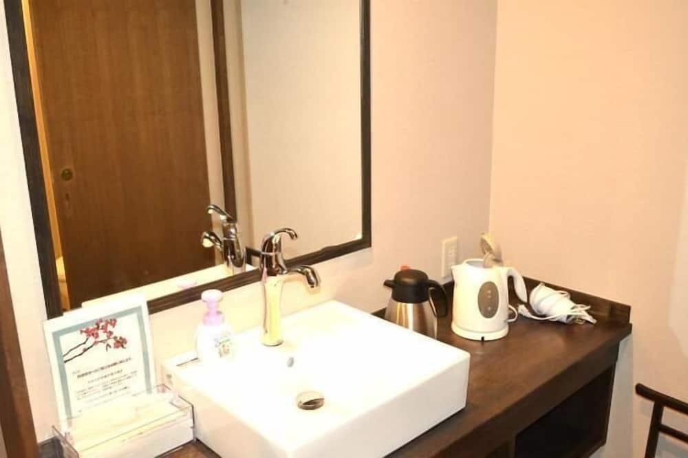 和室 2人部屋 トイレ付 (オーガニック野菜献立) - バスルーム