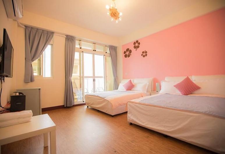 Wind Travel, Hengchun, Quadruple Room (401), Guest Room