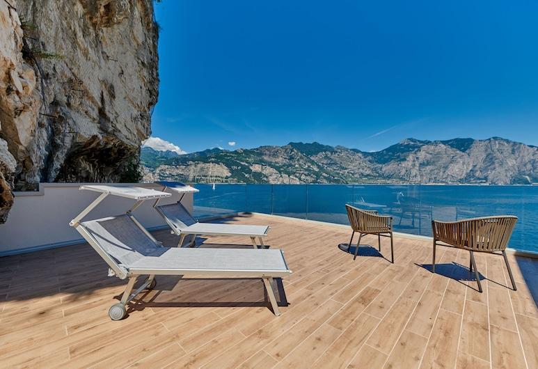 Hotel Castello Lake Front, Malcesine, Suite Nobre, 1 cama queen-size, Edifício Anexo, Quarto