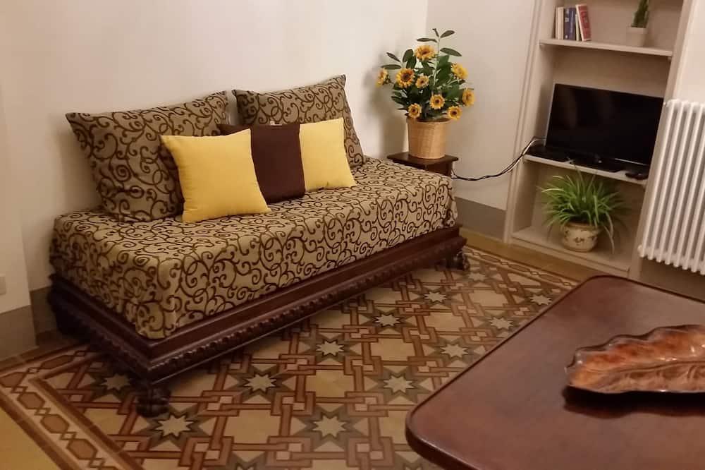 公寓, 1 間臥室, 庭院 (Corsini) - 客廳