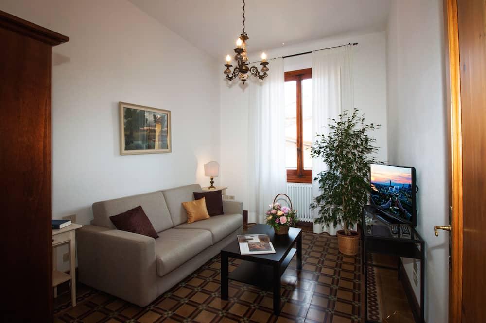 公寓, 2 間臥室, 陽台 (Pitti) - 客廳
