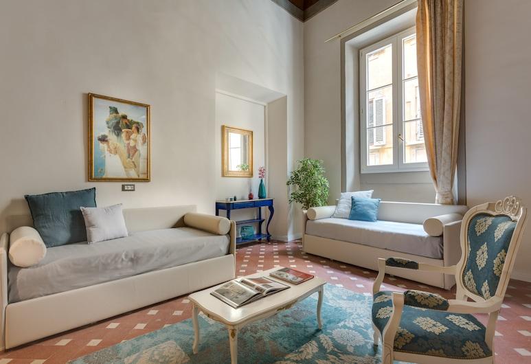 Residenza D'Epoca Historia Luxury, Florenz, Luxury-Vierbettzimmer (Monnalisa), Zimmer