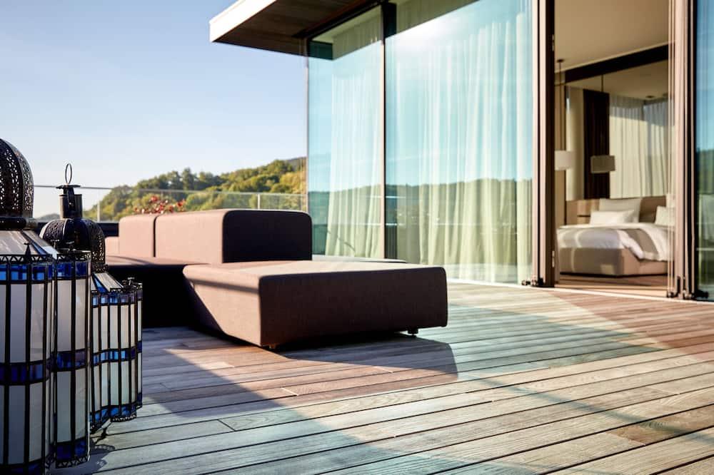 Apartament typu Suite, 1 sypialnia, dla niepalących, balkon (Prestige Suite) - Pokój