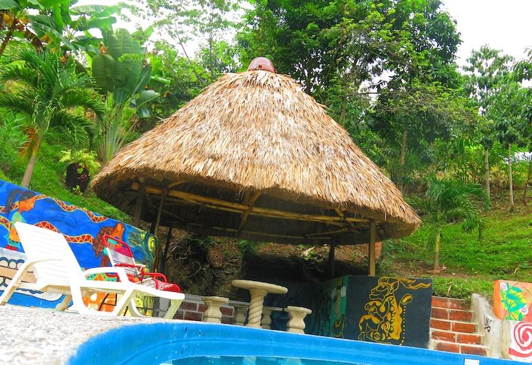 Viñas Hotel - Hostel, Lanquín, Piscina al aire libre