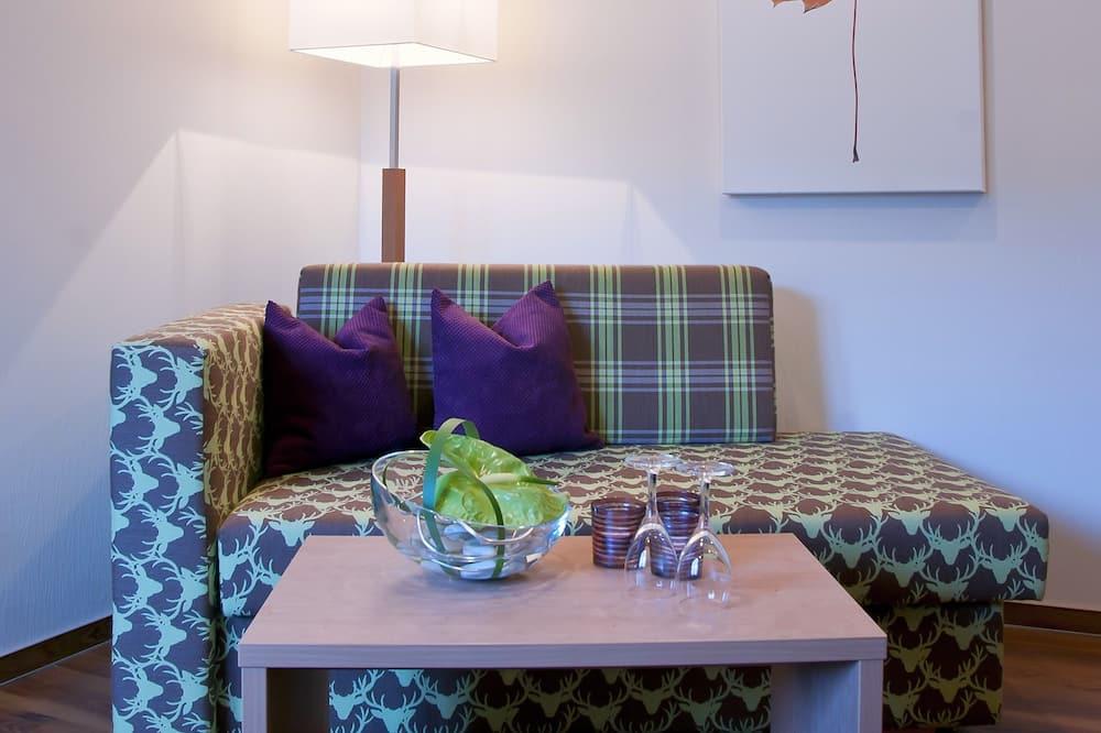 Departamento familiar, baño privado - Sala de estar