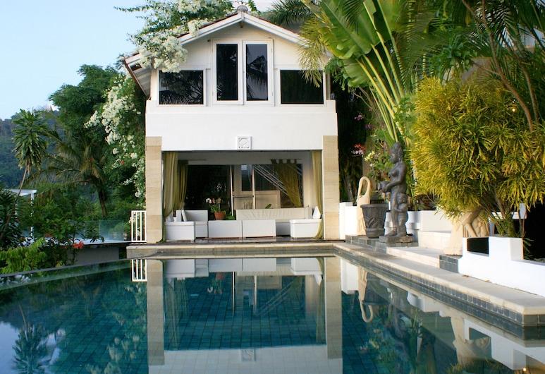 Villa Buah, Senggigi, Kolam Renang Infinity