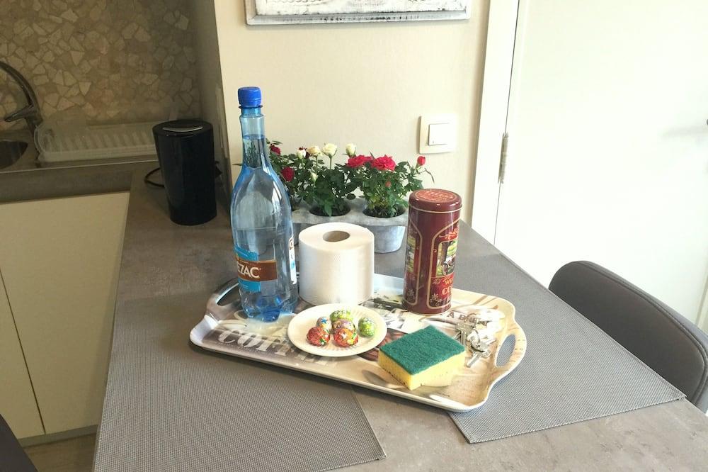 Estudio - Servicio de comidas en la habitación