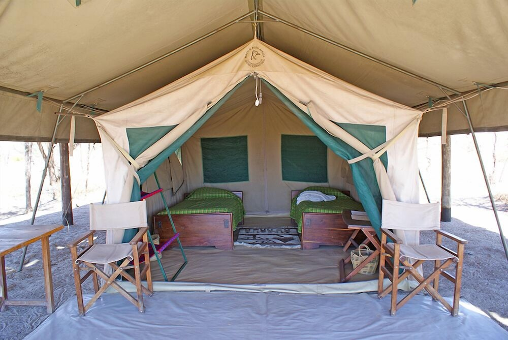 Whistling Thorn Tented C& Tarangire National Park Deluxe Tent Garden View Guest & Book Whistling Thorn Tented Camp in Tarangire National Park ...