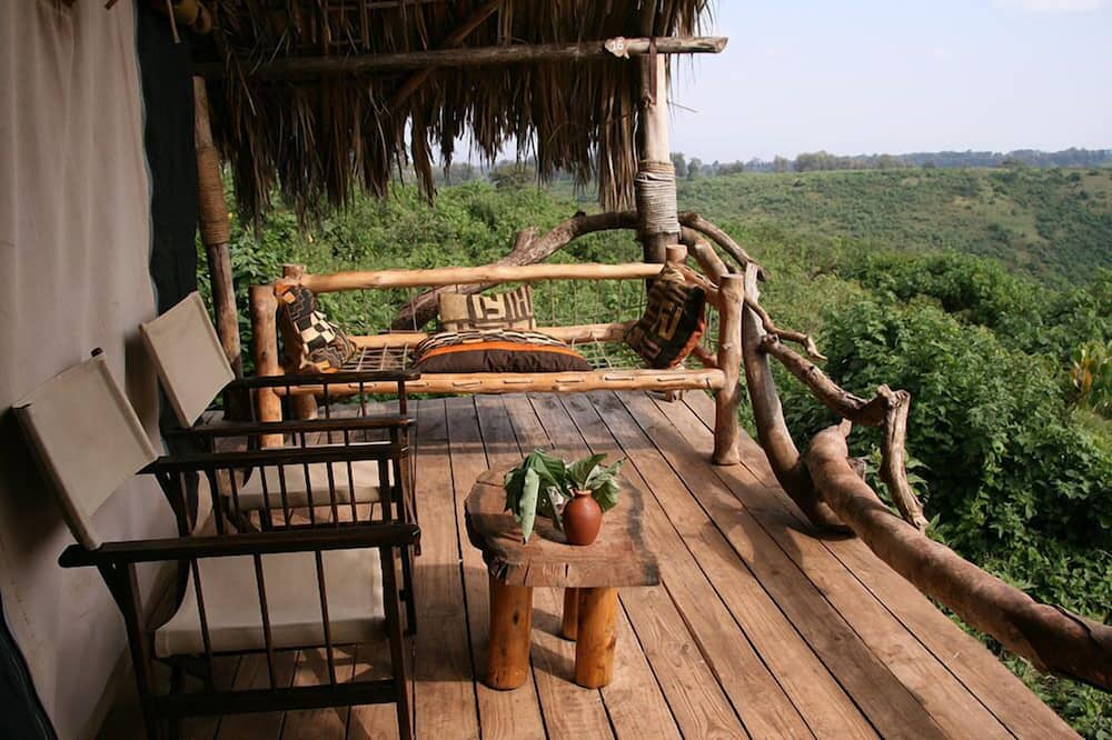 Deluxe Tent, Garden View - Balcony