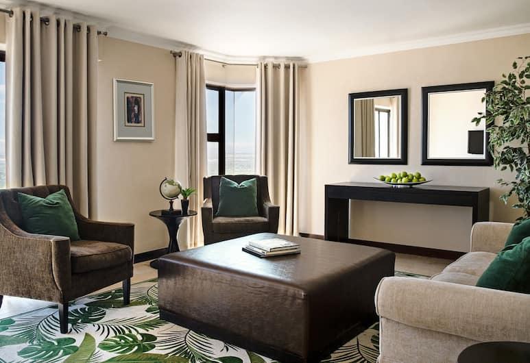 De Merindol Luxury Apartments, Cape Town, APARTMENT B - 2nd floor - 3 Bedrooms, Living Room