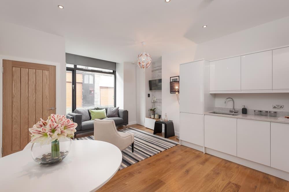 Apartment, 1 Bedroom, Ground Floor - Living Area