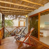 Standard Double Room, Terrace, Garden View - Balcony
