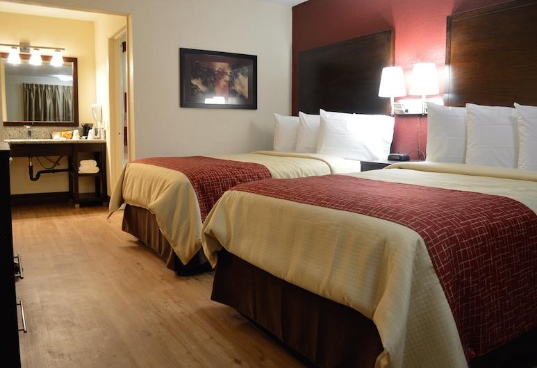 北沙加緬度紅屋頂套房飯店, 薩克拉門多, 標準套房, 2 張標準雙人床, 非吸煙房, 客房