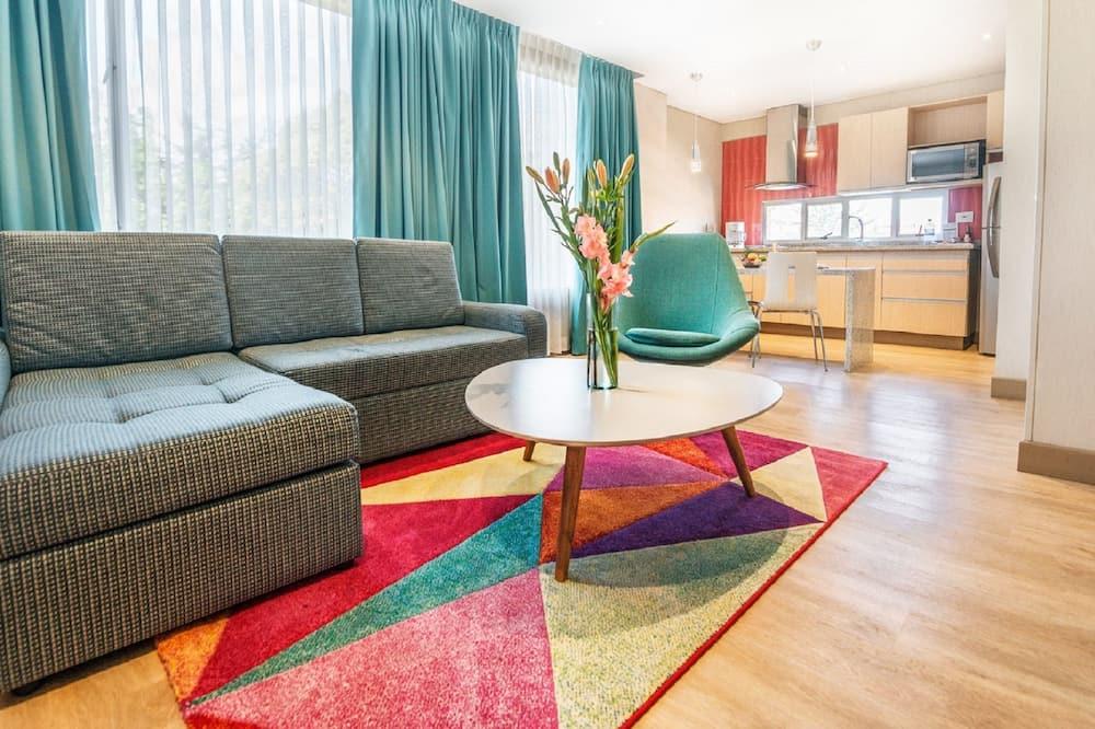 Comfort Apartment, 1 Bedroom, Accessible, City View - Ruang Tamu