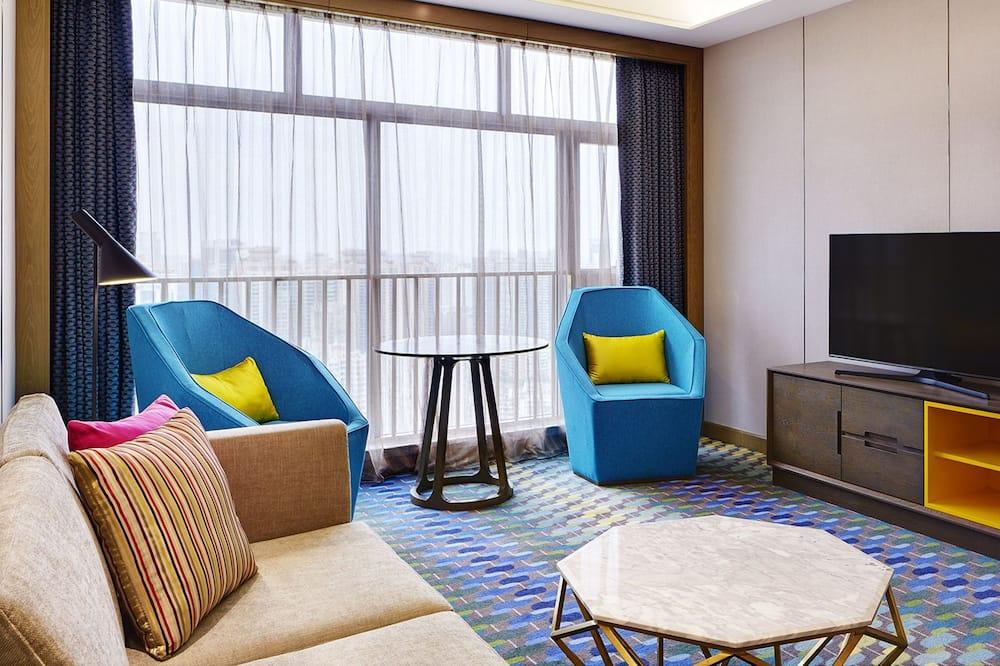 Suite, 2 Single Beds (Sweet Suite) - Living Area