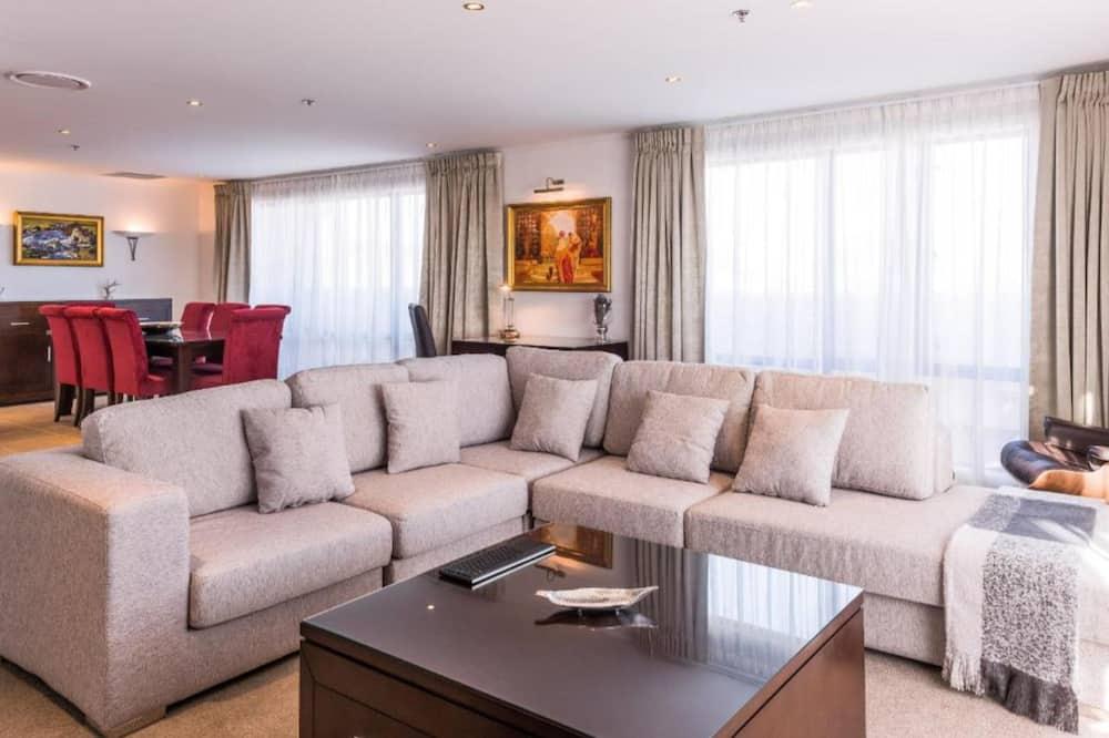 Ático, 2 habitaciones - Zona de estar