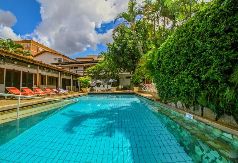 Hotel Roma, Caldas Novas, Vonkajší bazén