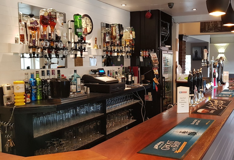 The Railway Inn, Stoke-on-Trent, Hotelbar