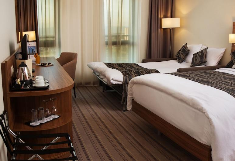 Best Western Premier Sofia Airport Hotel, โซเฟีย, ห้องสแตนดาร์ด, เตียงควีนไซส์ 1 เตียง และโซฟาเบด, ปลอดบุหรี่ (with Sofabed), ห้องพัก