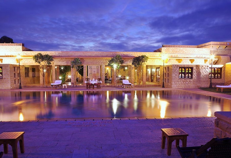 Hotel Rawal Kot, Джайсалмер, Відкритий басейн