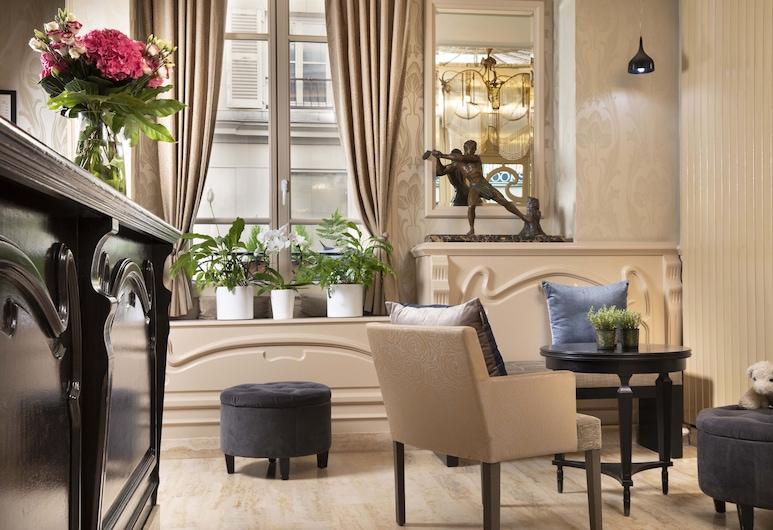 Grand Hotel des Balcons, Paris, Resepsjon