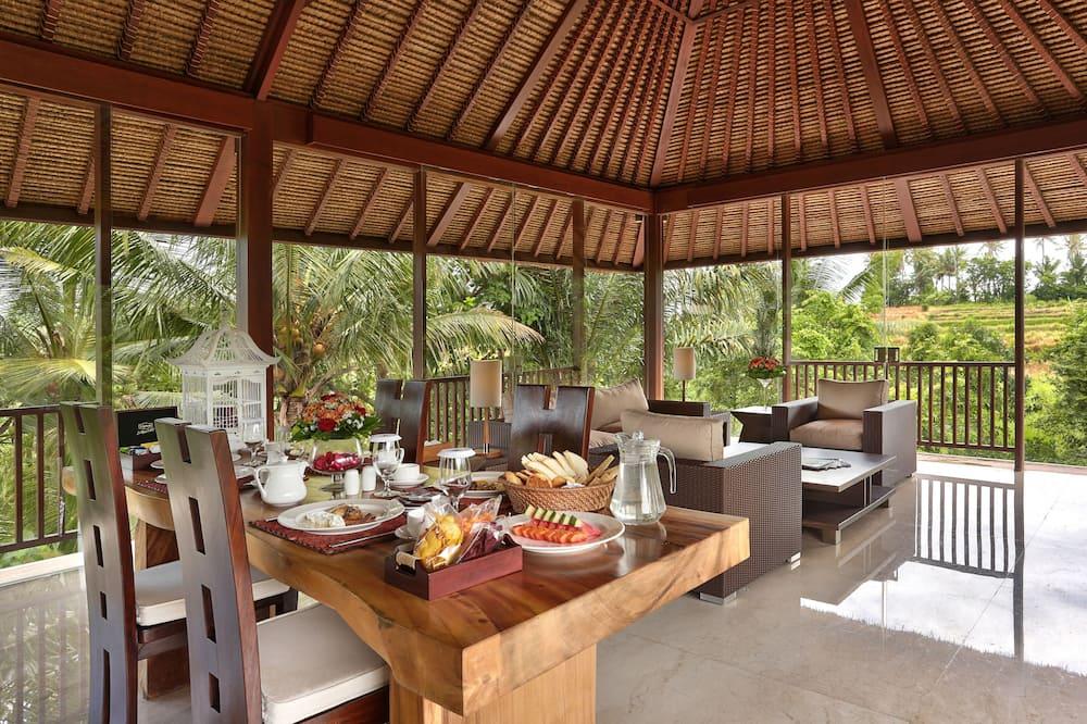 Vila, 1 spálňa, súkromný bazén (Free Afternoon Tea) - Stravovanie v izbe